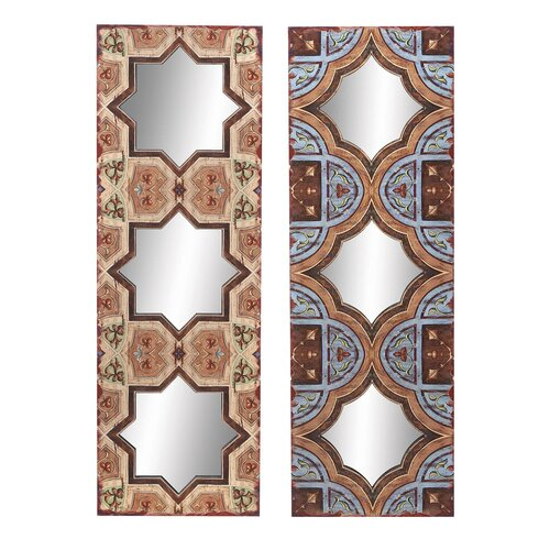 Aspire 2 Piece Mirror Wall Décor Set