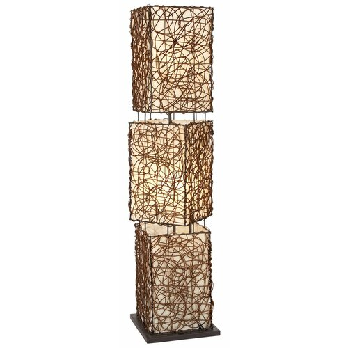 Aspire Thalia Rattan Floor Lamp