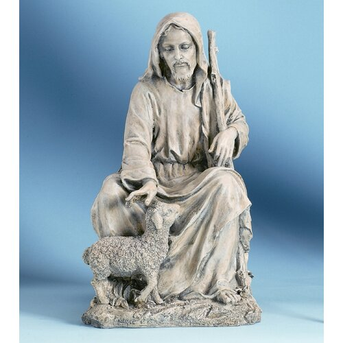 Roman, Inc. Good Shepherd Outdoor Statue