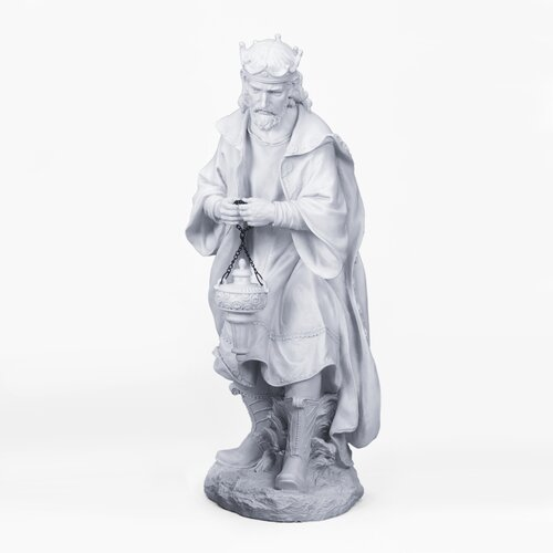 Praising Wise Man Figurine
