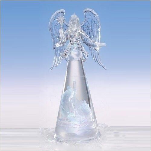 Lighted Angel Figurine