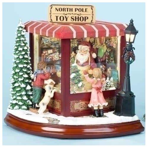 Roman, Inc. Santas North Pole Toy Shop