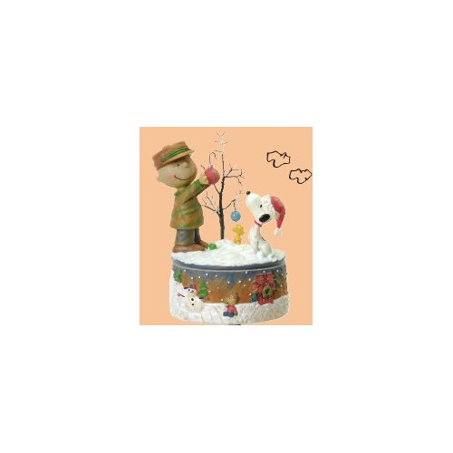 Roman, Inc. Musical Charlie and Snoop Decorative Tree Figurine