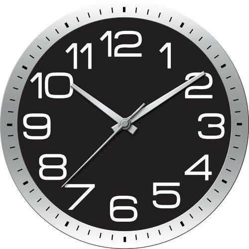 ashton sutton modern home large wall clock reviews wayfair