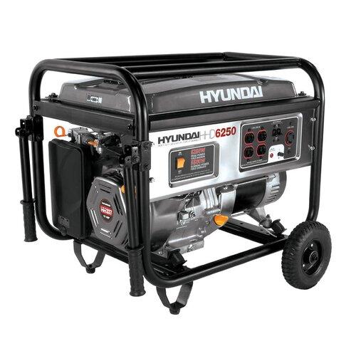 Home Series Portable Heavy Duty Power 6,250 Watt Gasoline Generator