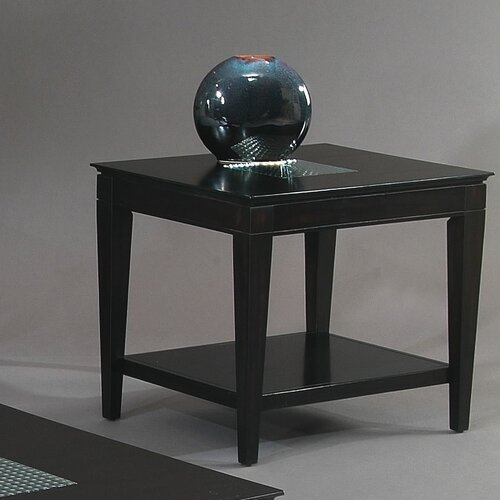 Bassett Mirror Mocchiato Rectangle End Table
