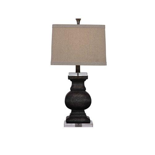 "Bassett Mirror Carmel 29"" H Table Lamp with Drum Shade"