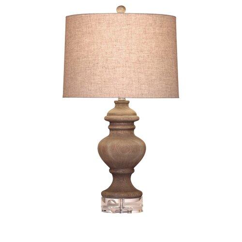 "Bassett Mirror Eldridge 28"" H Table Lamp with Drum Shade"