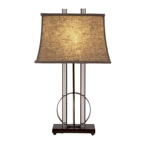 """Bassett Mirror Whythe 29"""" H Table Lamp with Empire Shade"""