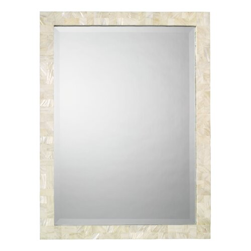 Rectangular Mother of Pearl Mirror