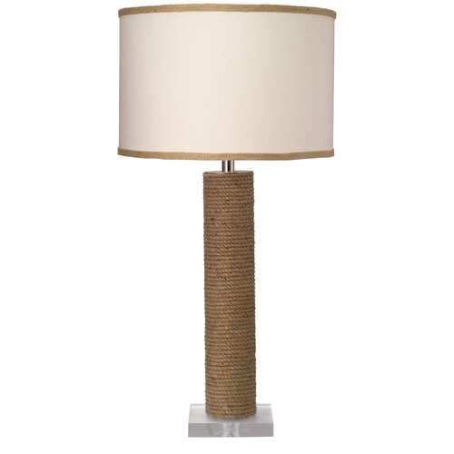 """Jamie Young Company Cylinder 28"""" H Table Lamp with Drum Shade"""
