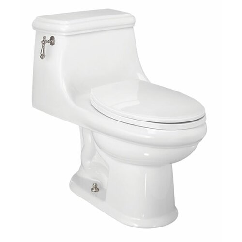 Celebration Chair-Height 1.28 GPF Elongated 1 Piece Toilet