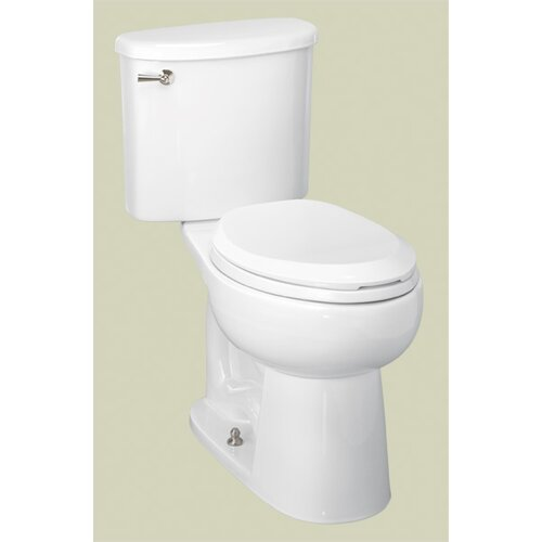Palermo Chair-Height 1.28 GPF Elongated 2 Piece Toilet
