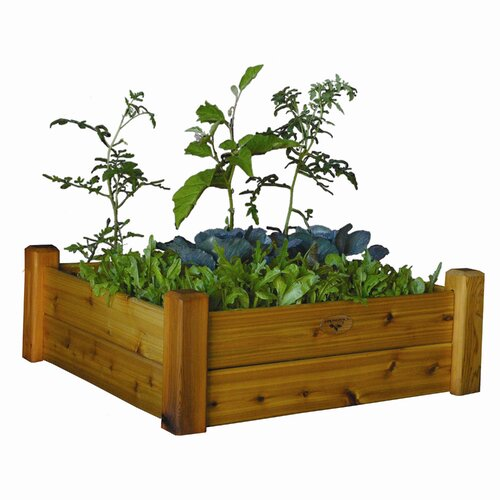 "Gronomics 13"" Raised Garden Bed with Safe Finish"