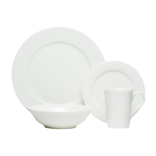 Pure Vanilla 16 Piece Dinnerware Set