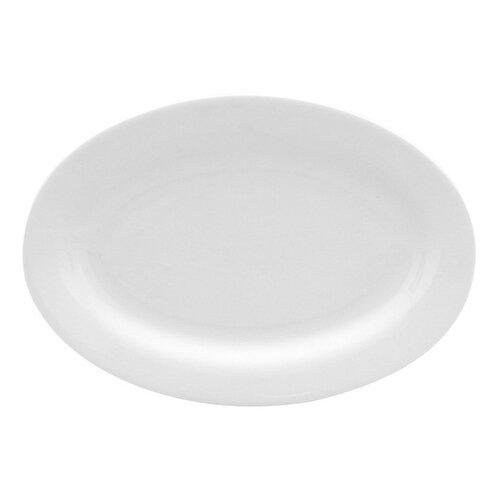 """Red Vanilla Pure Vanilla 12"""" Oval Serving Platter"""