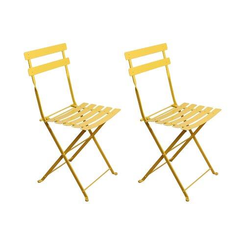 Furniture Designhouse French Bistro European Café Folding Side Chair