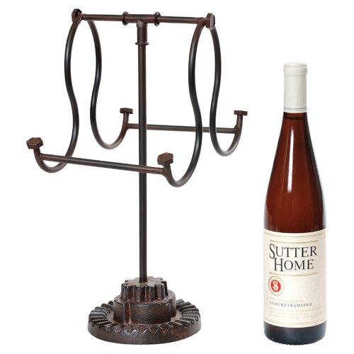 Wilco 2 Bottle Tabletop Wine Rack