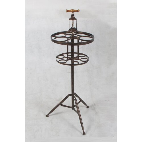 Wilco Corkscrew 6 Bottle Tabletop Wine Rack