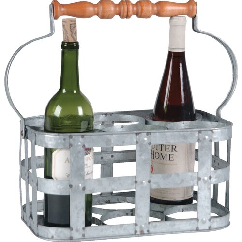 Wilco 6 Bottle Wine Caddy