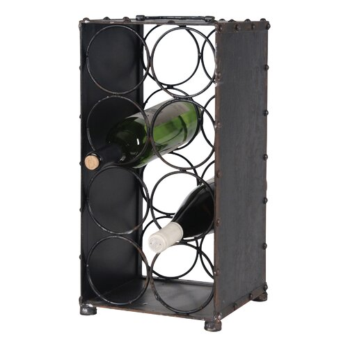 Wilco 8 Bottle Tabletop Wine Rack