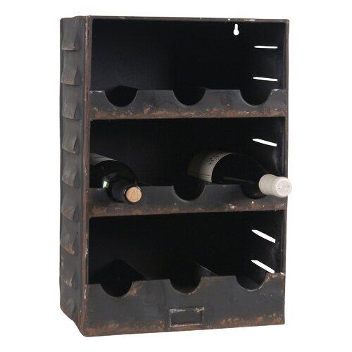 9 Bottle Wine Cabinet