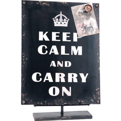 Wilco 'Keep Calm ...' Decor Figurine