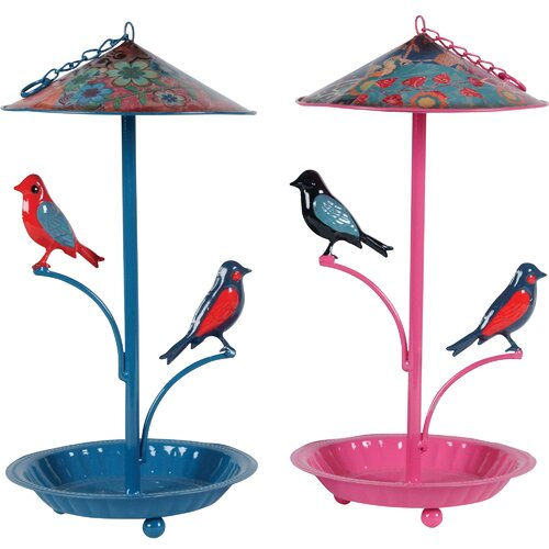 Bird Metal Decor (Set of 2)