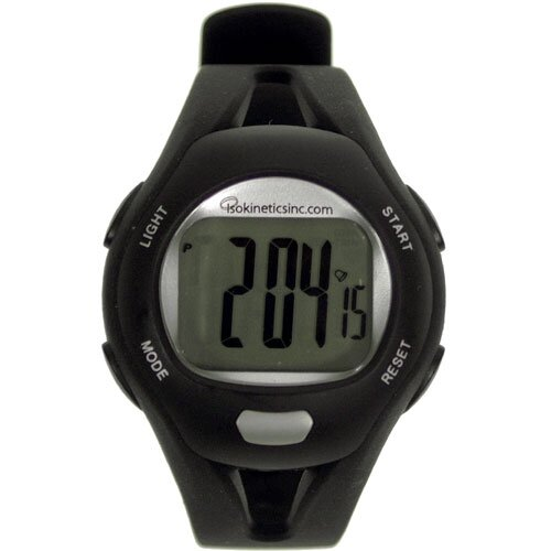 Isokinetics Heart Rate Monitor Watch with Chest Strap