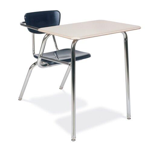 "Virco 3000 Series 29"" Plastic Chair Desk"