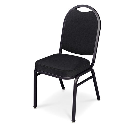 "Virco Stacking Chair with 2.5"" Crown Seat"
