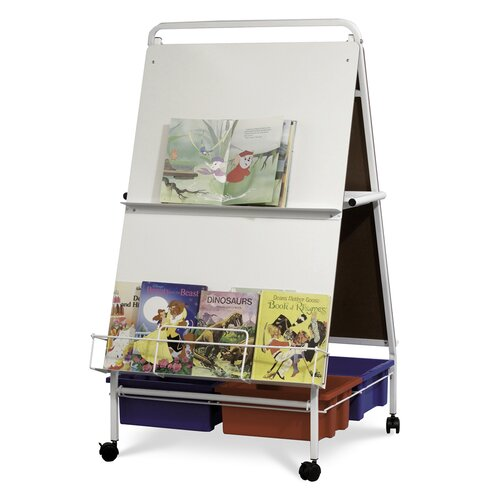 Virco Baby Folding Easel, With Tubs