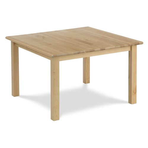"Virco Children's Hardwood Table with 18"" Legs (30"" x 30"")"