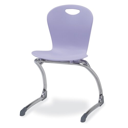 "Virco Zuma 15.5"" Plastic Classroom Cantilever Chair"