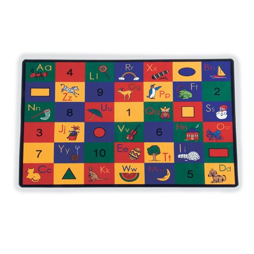 Virco Children's Blocks of Fun Area Rug