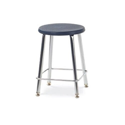 Virco Height Adjustable Stool with Footrest