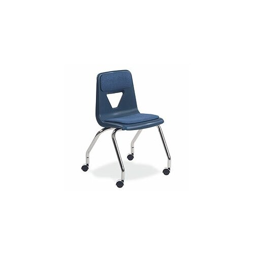 "Virco 2000 Series 18"" Plastic Classroom Mobile Chair"