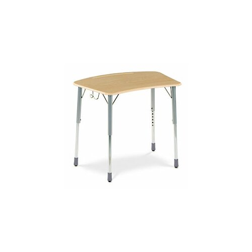 Virco Zuma Plastic Bow Front Desk