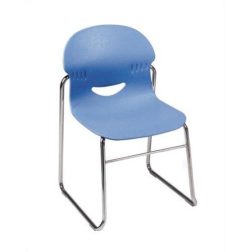 """Virco I.Q. Series 17.5"""" Plastic Classroom Sled-Based Chair"""