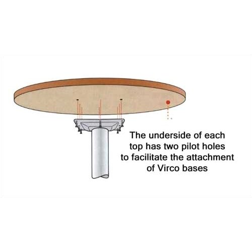 Virco Round Gathering Table Top
