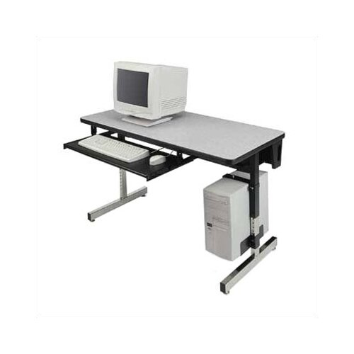 "Virco 8700 Series 48"" W x 24"" D Computer Table"