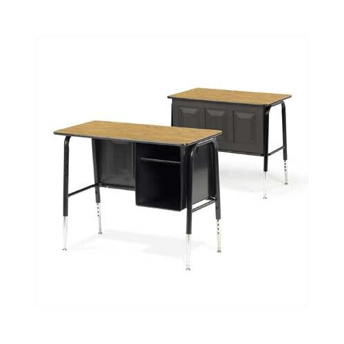 Virco 765 Series Laminate Junior Executive Desk