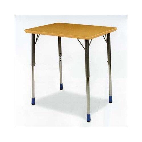 Virco Zuma Plastic Rectangular Desk