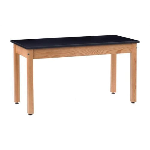 Virco Epoxy Resin Black Top Science Table