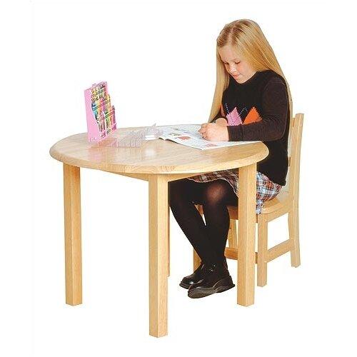 Virco Children's Hardwood Round Table