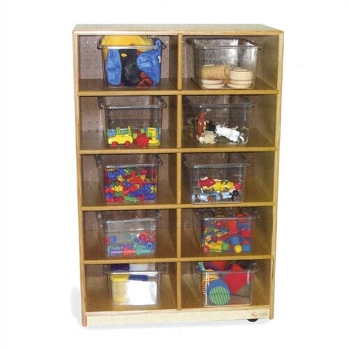 Virco Storage Unit 10 Compartment Cubby