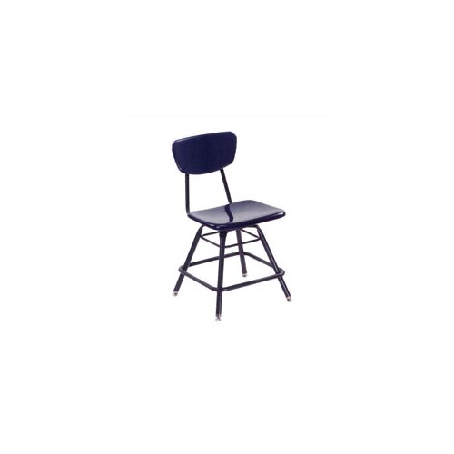 "Virco 3000 Series 18"" Plastic Classroom Glides Chair"