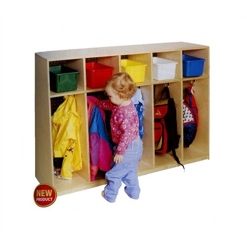 Virco 5-Section Tot Locker