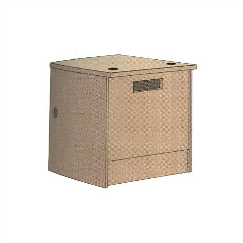 "Virco Book Drop Return Unit (39"" x 36"")"
