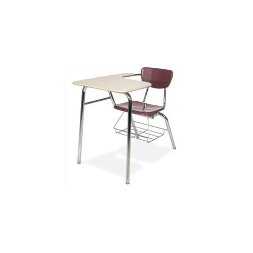 "Virco 3000 Series 29"" Laminate Chair Desk with Tablet Arm"